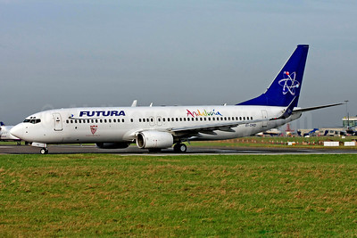 Futura International Airways Boeing 737-86N WL EI-DKD (msn 28617) (Andalucia) DUB (SM Fitzwilliams Collection). Image: 911747.