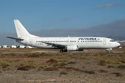 Futura International Airways Boeing 737-4Q8 EC-INQ (msn 25169) ACE (Ton Jochems). Image: 953687.