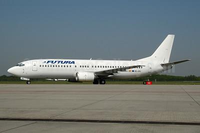 Futura International Airways Boeing 737-4Q8 EC-JNU (msn 26285) EIN  (Ton Jochems). Image: 953688.