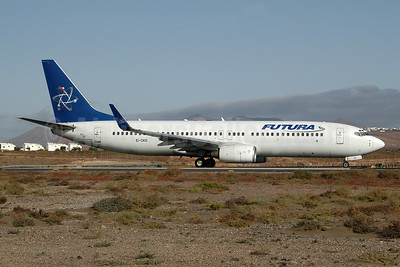 Futura International Airways Boeing 737-86N WL EI-DKD (msn 28617) ACE (Ton Jochems). Image: 953693.