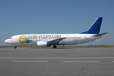 Doblecero.com (Futura International Airways) Boeing 737-4K5 EC-JSS (msn 24128) CDG (Pepscl). Image: 953683.