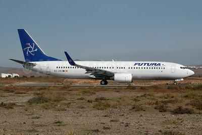 Futura International Airways Boeing 737-86N WL EC-JFB (msn 32658) ACE (Ton Jochems). Image: 953692.