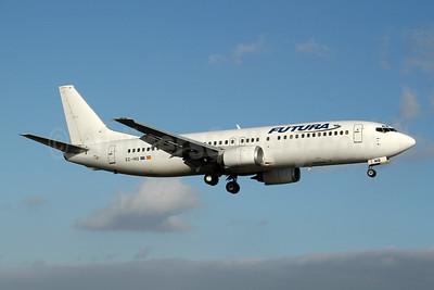 Futura International Airways Boeing 737-4Q8 EC-INQ (msn 25169) ACE (Ton Jochems). Image: 953686.