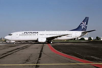 Futura International Airways Boeing 737-4S3 EC-IHI (msn 25134) AMS (Ton Jochems). Image: 953689.