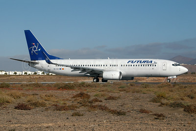 Futura International Airways Boeing 737-86N WL EC-IUC (msn 28612) ACE (Ton Jochems). Image: 953691.