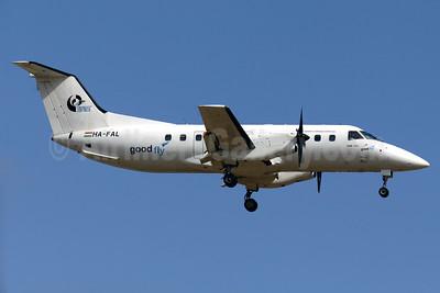 Good Fly-BAS (Budapest Air Service) Embraer EMB-120ER Brasilia HA-FAL (msn 120176) PMI (Javier Rodriguez). Image: 920439.