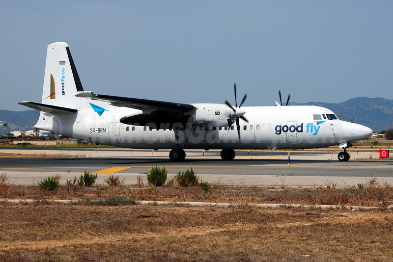 Good Fly (Minoan Air) (goodfly.es) Fokker F.27 Mk. 050 SX-BRM (msn 20207) PMI (Ton Jochems). Image: 909218.