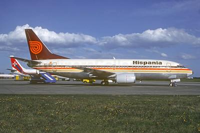 Ex G-BNRT. Delivered November 9, 1988 as EC-213