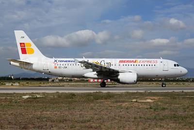 Iberia Express Airbus A320-214 EC-JSK (msn 2807) (Tenerife - Salmes Cup 2013) PMI (Ton Jochems). Image: 920958.