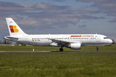 Iberia Express Airbus A320-214 EC-JFG (msn 2143) DUB (msn 2143) DUB (SM Fitzwilliams Collection). Image: 912304.