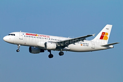 Iberia Express Airbus A320-211 EC-FCB (msn 158) AGP (Stefan Sjogren). Image: 912301.