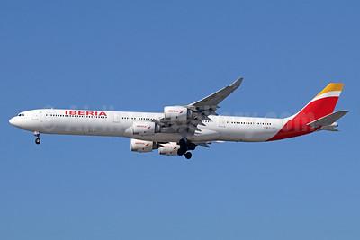 Iberia Airbus A340-642 EC-LEU (msn 960) LAX (Michael B. Ing). Image: 935220.