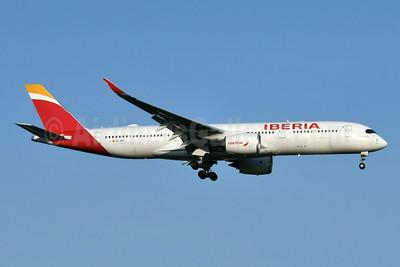 Iberia Airbus A350-941 EC-NGT (msn 366) JFK (Keith Sommer). Image: 954117.