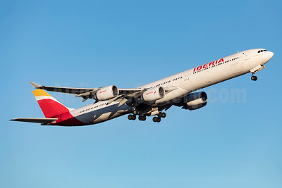 Iberia Airbus A340-642 EC-JFX (msn 672) ARN (Stefan Sjogren). Image: 949205.