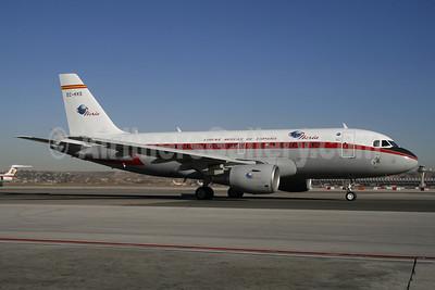 Iberia-Lineas Aereas de Espana Airbus A319-111 EC-KKS (msn 3320) MAD (Ariel Shocron). Image: 900491.