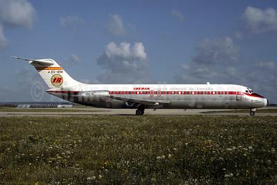 Iberia-Lineas Aereas de Espana McDonnell Douglas DC-9-32 EC-BIM (msn 47088) ORY (Christian Volpati). Image: 905054.