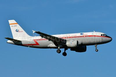 Iberia-Lineas Aereas de Espana Airbus A319-111 EC-KKS (msn 3320) ZRH (Paul Bannwarth). Image: 924209.