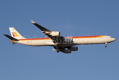 Iberia Airbus A340-642 EC-LCZ (msn 993) MAD (Paul Denton). Image: 937536.