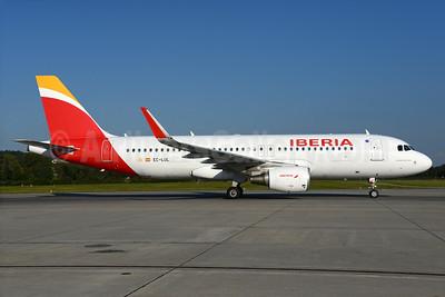 Iberia Airbus A320-216 WL EC-LUL (msn 5486) ZRH (Rolf Wallner). Image: 934856.