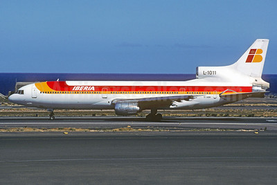 Iberia (Air Atlanta Icelandic) Lockheed L-1011-385-1-15 TriStar 100 TF-ABM (msn 1072) LPA (Christian Volpati Collection). Image: 928100.
