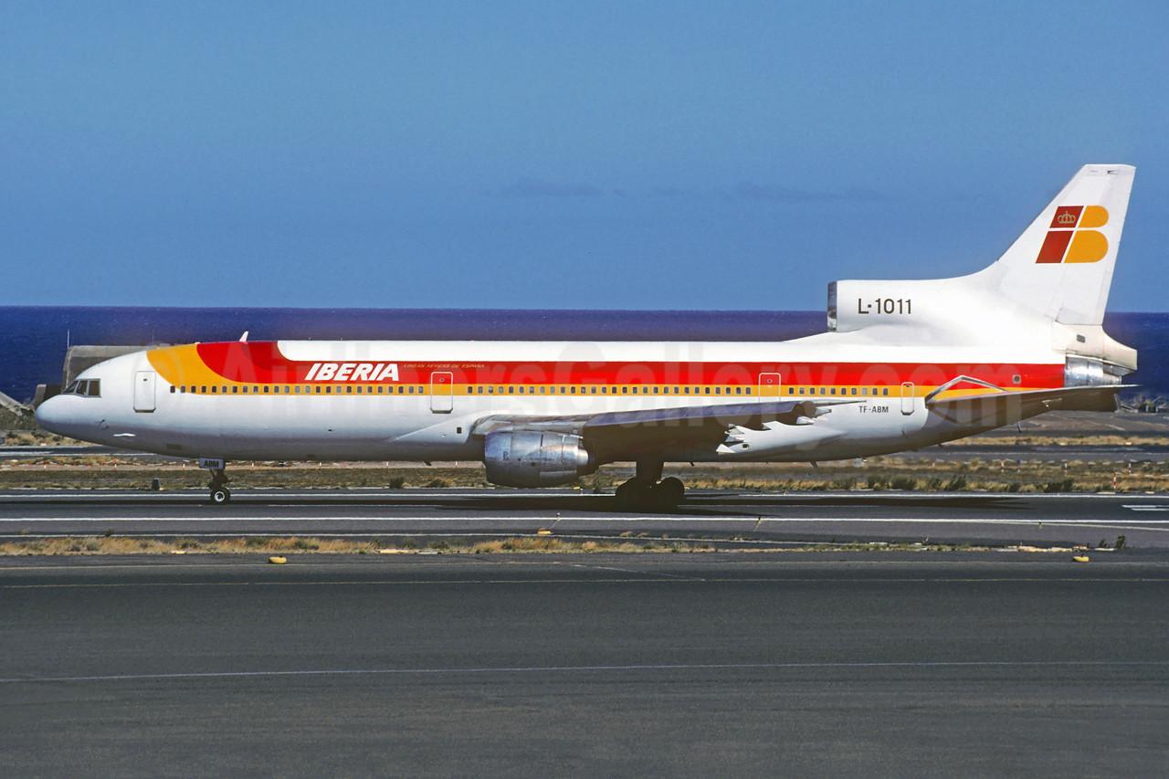 Iberia (Air Atlanta Icelandic) Lockheed L-1011-385-1-15 TriStar 100 TF-ABM (msn 1072) LPA (Christian Volpati Collection). Image: 928100.