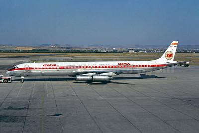 """""""El Espanoleto"""", overran runway at Santiago, Spain on March 3, 1978 (WO)"""