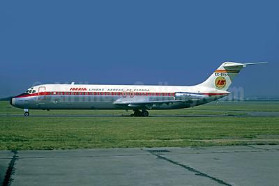 Iberia-Lineas Aereas de Espana McDonnell Douglas DC-9-32 EC-BYH (msn 47556) LBG (Christian Volpati). Image: 904431.