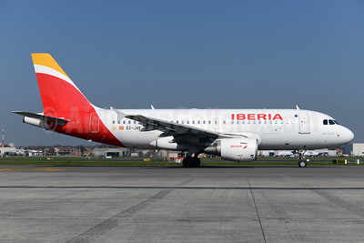 Iberia Airbus A319-111 EC-JVE (msn 2843) BRU (Ton Jochems). Image: 937531.