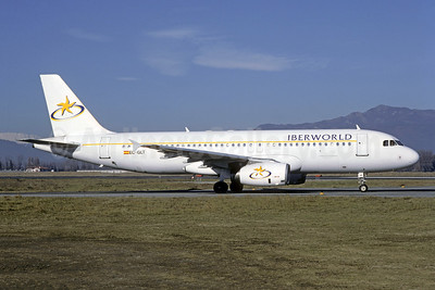 Iberworld Airlines Airbus A320-231 EC-GLT (msn 314) TRN (Christian Volpati Collection). Image: 950302.
