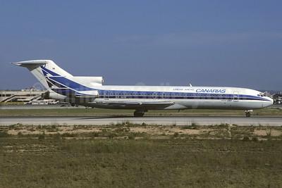 Lineas Aereas Canarias Boeing 727-287 LV-MIM (msn 21688) (Aerolineas Argentinas colors) PMI (Christian Volpati Collection). Image: 932276.