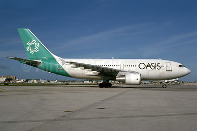 Oasis International Airlines Airbus A310-324 VR-BCU (msn 594) MIA (Bruce Drum). Image: 104427.