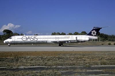 Oasis International Airlines McDonnell Douglas DC-9-83 (MD-83) EC-FVX (msn 49791) PMI (Christian Volpati). Image: 954125.