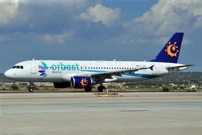 Orbest Orizonia Airlines (Spain) Airbus A320-214 EC-LAQ (msn 3933) (Iberworld colors) PMI (Ton Jochems). Image: 907053.