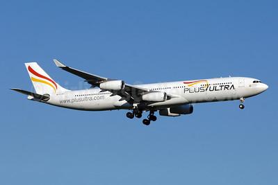 Plus Ultra Lineas Aereas Airbus A340-313 EC-MFA (msn 212) YYZ (TMK Photography). Image: 942734.