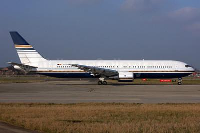 Privilege Style Lineas Aereas Boeing 767-35D ER EC-LZO (msn 27902) LHR. Image: 937018.