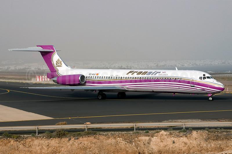 Pronair Airlines McDonnell Douglas DC-9-87 (MD-87) EC-KJI (msn 49836) ACE (Erik Boers). Image: 921059.