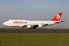 Pullmantur Air Boeing 747-4H6 EC-KXN (msn 25703) BRU (Wim Callaert). Image: 909445.