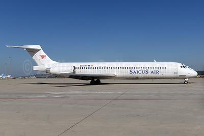 Saicus Air McDonnell Douglas DC-9-87 EC-KRV (msn 49843) MAD (Ton Jochems). Image: 936990.