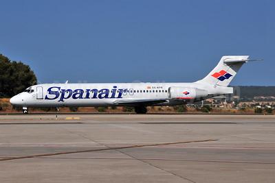 Spanair Boeing 717-2K9 EC-KFR (msn 55056)  PMI (Ton Jochems). Image: 955402.