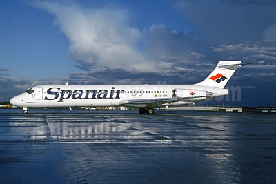 Spanair McDonnell Douglas DC-9-87 (MD-87) EC-GRK (msn 49827) MUC (Christian Volpati Collection). Image: 943916.