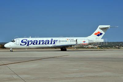 Spanair Boeing 717-23S EC-KRO (msn 55067) PMI (Ton Jochems). Image: 955385.