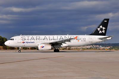 Spanair Airbus A320-232 EC-INM (msn 1979) (Star Alliance) PMI (Ton Jochems). Image: 955388.