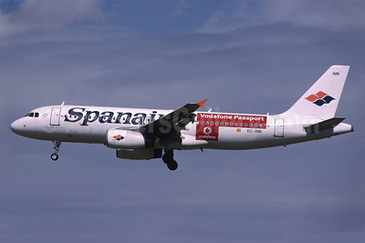 Spanair's Vodafone Passpost special livery