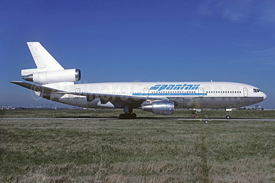 Spantax (United Aviation Services) McDonnell Douglas DC-10-10 N52UA (msn 46905) ORY (Jacques Guillem). Image: 925832.