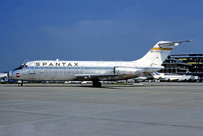 Spantax McDonnell Douglas DC-9-14 EC-CGY (msn 45696) ORY (Christian Volpati). Image: 955508.
