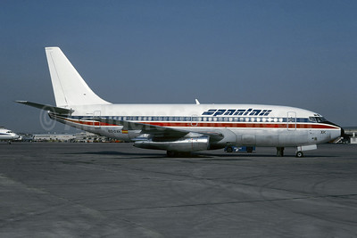 Spantax (Britannia Airways) Boeing 737-204 EC-DXK (msn 22638) (Britannia colors) PMI (Christian Volpati Collection). Image: 942843.