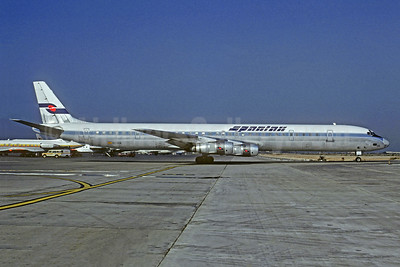 Spantax McDonnell Douglas DC-8-61CF EC-CCG (msn 45898) PMI (Christian Volpati Collection). Image: 942840.