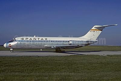 Spantax Douglas DC-9-14 EC-DIR (msn 45698) ORY (Jacques Guillem). Image: 906066.