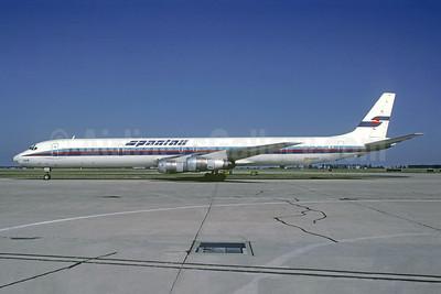 Spantax McDonnell Douglas DC-8-61 EC-DVB (msn 46037) ORY (Jacques Guillem). Image: 942841.