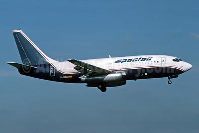 Spantax Boeing 737-2H4 EC-DZH (msn 20336) (Presidential colors) (Richard Vandervord). Image: 902585.